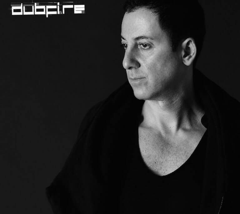 Dubfire black and white Poster