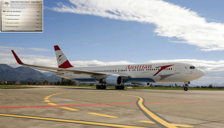 Austrian Airline plane