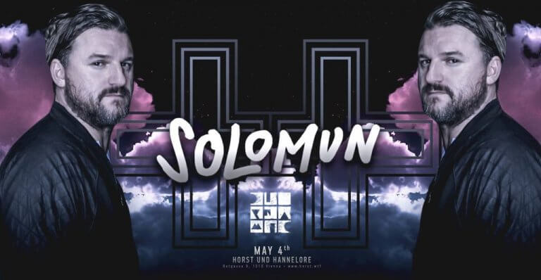 Event Poster with Solomun