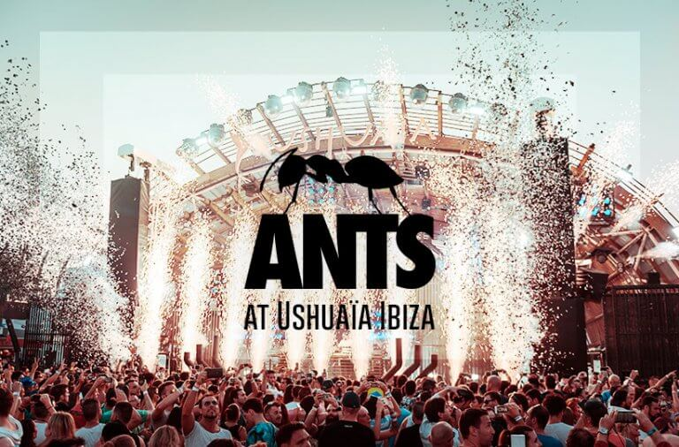 ANTS at Ushuaia Ibiza open air party