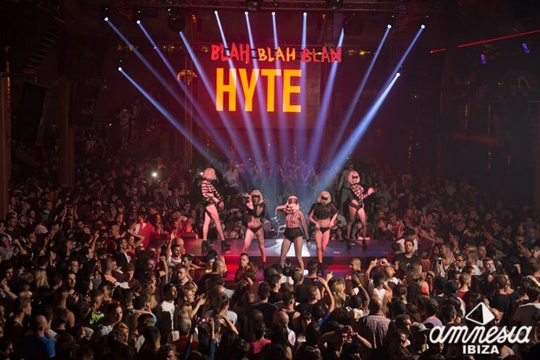 Hyte Amnesia Ibiza Party pic