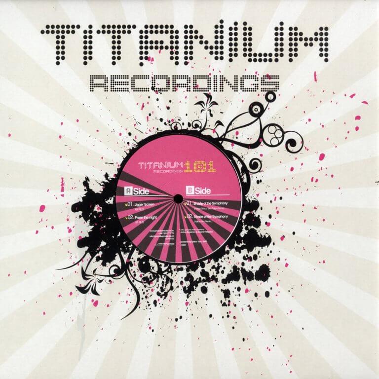 titanium recording CD