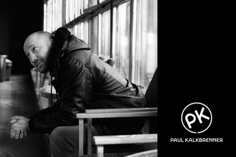 Paul Kalkbrenner Profil Bild schwarz weiß