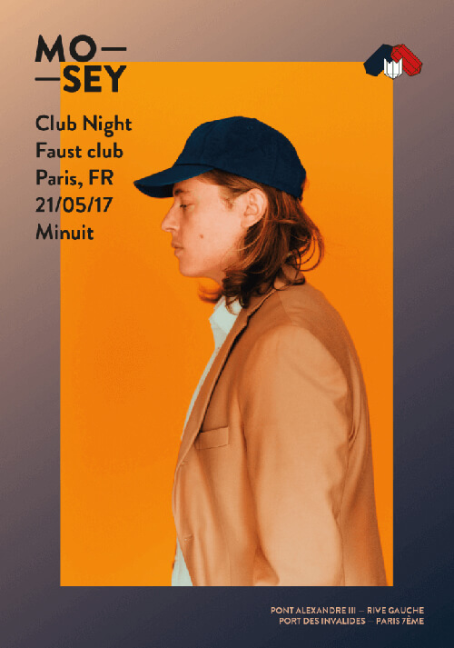 Mosey Club Night Poster